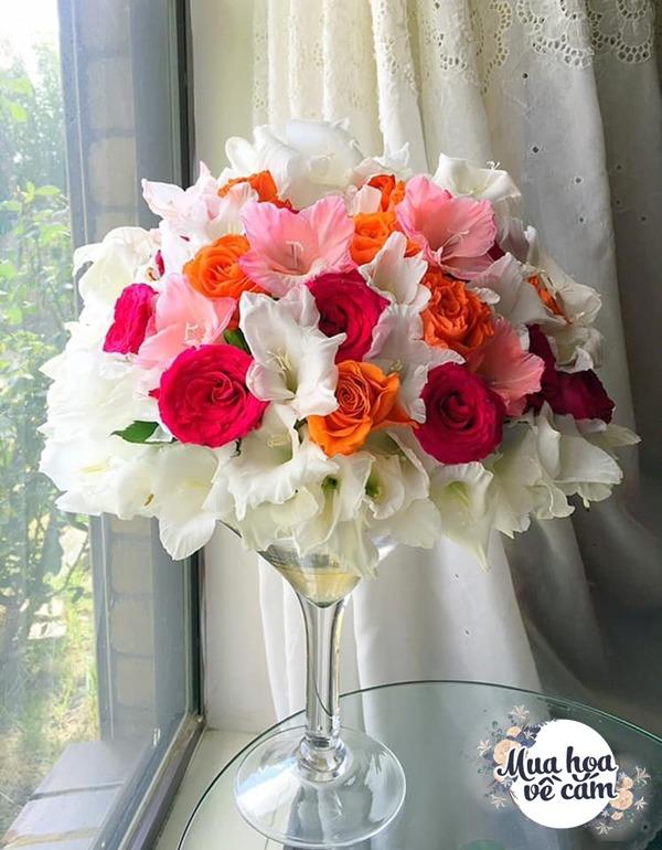 Nhìn hoa nhớ mẹ, 8X Việt ở nước ngoài cắm loại hoa chơi Tết đẹp siêu lòng - 3
