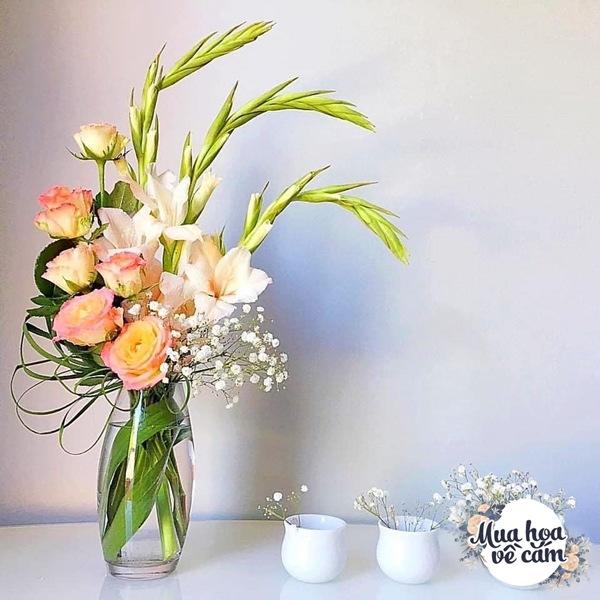 Nhìn hoa nhớ mẹ, 8X Việt ở nước ngoài cắm loại hoa chơi Tết đẹp siêu lòng - 5