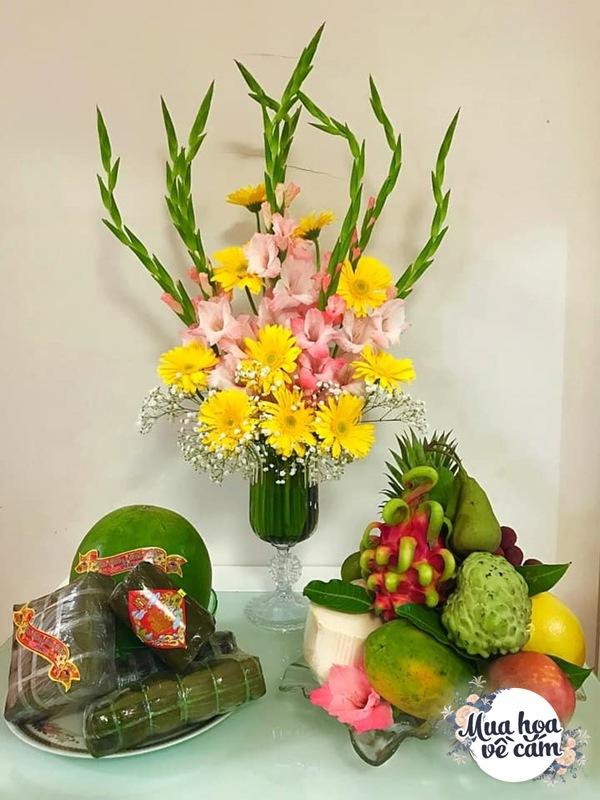 Nhìn hoa nhớ mẹ, 8X Việt ở nước ngoài cắm loại hoa chơi Tết đẹp siêu lòng - 7