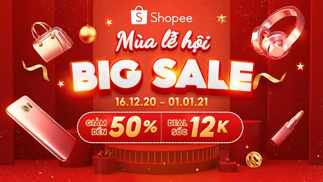 Shopee sale nửa giá chào đón Mùa lễ hội cuối năm, các tín đồ mua sắm không nên bỏ lỡ - 1