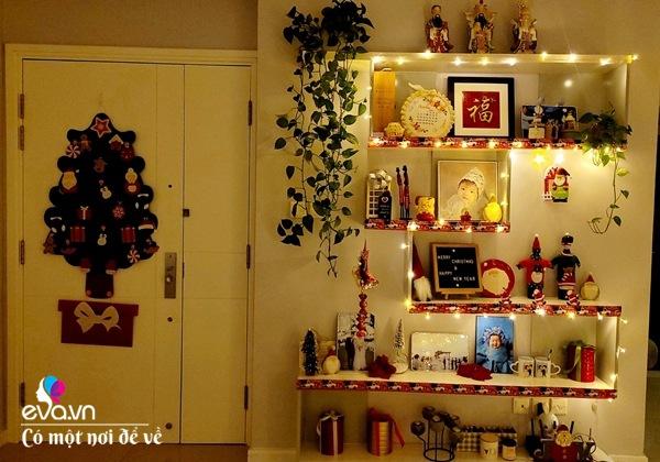 Rời trời Tây về Việt Nam, vợ chồng 8X trang hoàng chung cư thành cung điện đón Giáng sinh - 9