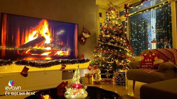 Rời trời Tây về Việt Nam, vợ chồng 8X trang hoàng chung cư thành cung điện đón Giáng sinh - 6