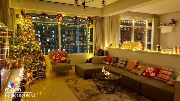 Rời trời Tây về Việt Nam, vợ chồng 8X trang hoàng chung cư thành cung điện đón Giáng sinh - 1