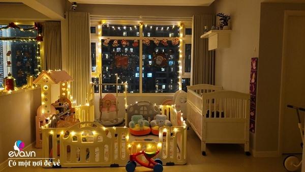Rời trời Tây về Việt Nam, vợ chồng 8X trang hoàng chung cư thành cung điện đón Giáng sinh - 21