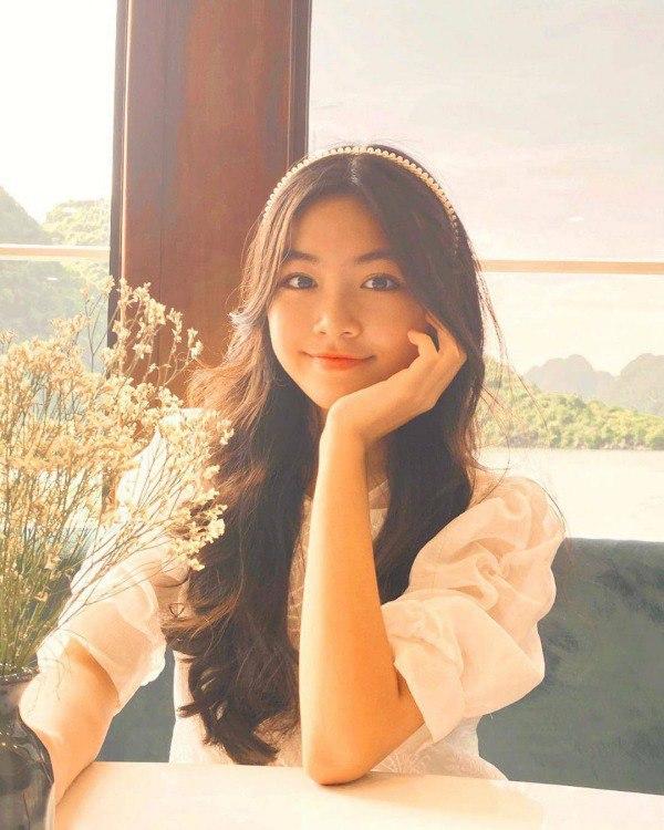 Nhan sắc chuẩn Hoa hậu, con gái Quyền Linh còn mặc có gu: Diện đơn giản mà xinh ngất ngây - 4