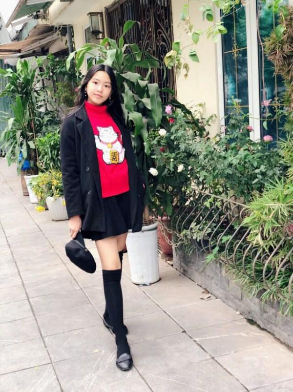 Nhan sắc chuẩn Hoa hậu, con gái Quyền Linh còn mặc có gu: Diện đơn giản mà xinh ngất ngây - 8