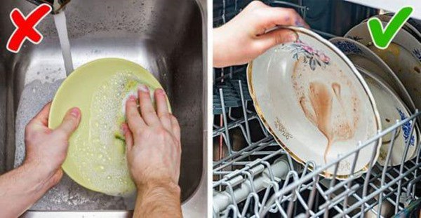 Dùng máy rửa bát mà dính liên tiếp 5 sai lầm này, chẳng mấy chốc biến chúng thành cục sắt - 4