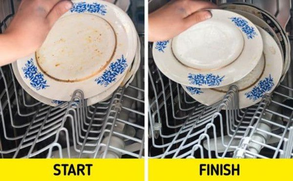 Dùng máy rửa bát mà dính liên tiếp 5 sai lầm này, chẳng mấy chốc biến chúng thành cục sắt - 7