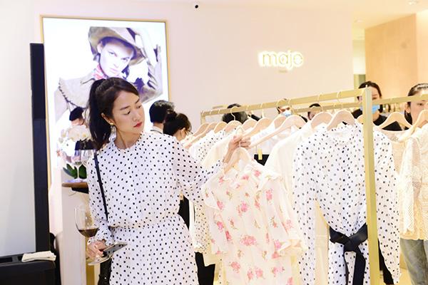 Maje mở liền lúc 2 cửa hàng tại Sài Gòn, lễ khai trương đã kịp đón các Fashionista đình đám - 5