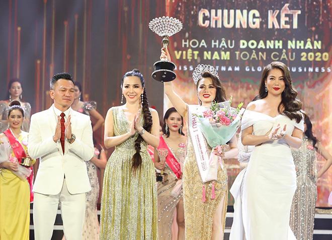 Doanh nhân Phạm Thị Hợp đăng quang Á hậu 1 Hoa hậu Doanh nhân Việt Nam Toàn cầu 2020 - 6