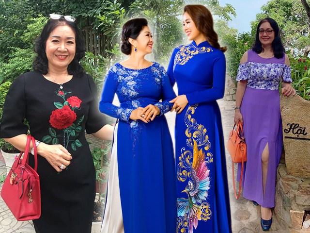 Không chỉ trẻ đẹp, mẹ ruột Lê Phương ăn mặc sành điệu chẳng thua con gái
