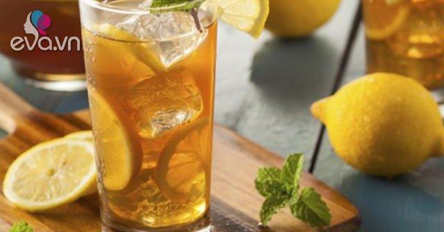 Cách làm trà chanh ngon, công thức pha trà không bị đắng