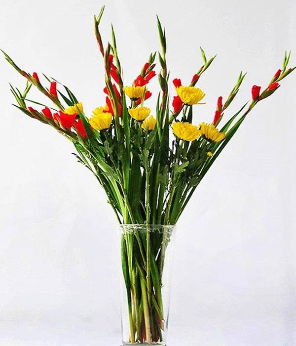 Hướng dẫn cách cắm hoa ngày Tết đẹp để rước tài lộc, may mắn - 14