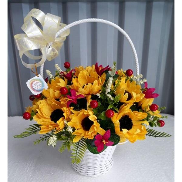 Cách cắm hoa Hướng Dương đẹp, nghệ thuật ai cũng phải khen - 7