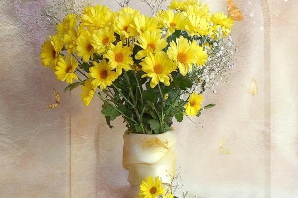 Hướng dẫn cách cắm hoa ngày Tết đẹp để rước tài lộc, may mắn - 18