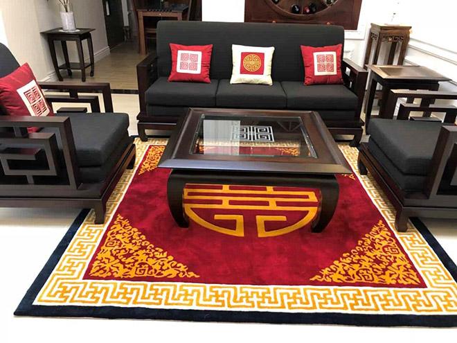 Cách lựa chọn thảm phòng khách đúng phong cách - đúng gu - 1