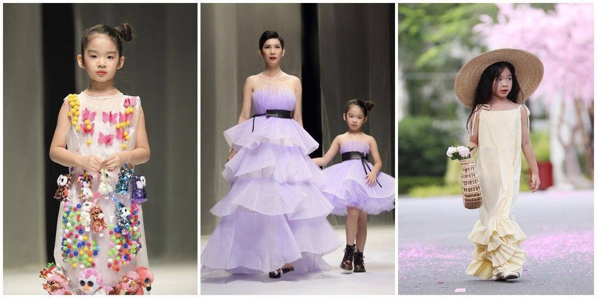 Hội tiểu công chúa amp;#34;điệu chảy nướcamp;#34; của sao Việtmê son phấn: bé sành sỏi, bé hoạ mặt tèm lem - 9