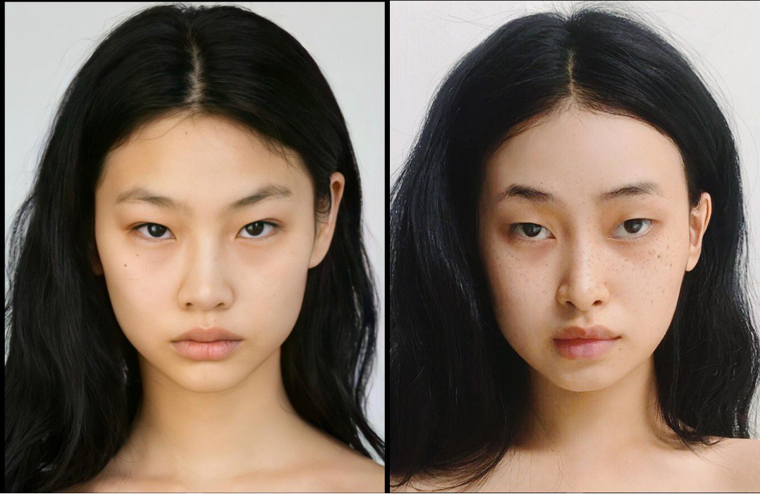 Hội gái xinh bắt trend make-up mắt thâm,tàn nhang theo Squid Game, Lê Bống đẹp vẫn bị chê - 6