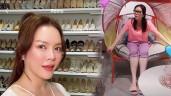 Có tủ giày hơn 1000 đôi, Lý Nhã Kỳ vẫn chỉ dùng dép giá rẻ 15 ngàn đồng