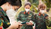 Lời tâm sự của những 'bóng hồng' Học viện Quân y trước khi rời TP.HCM