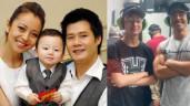Con trai của Jennifer Phạm và Quang Dũng 13 tuổi đứng ngang ngửa cậu ruột gần 1m9