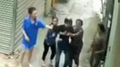Clip: Đang trộm xe, nam thanh niên bị hội phụ nữ vây bắt ngay tại trận