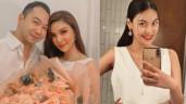 Lan Khuê mua váy bé gái dù sinh con trai với chồng đại gia, có dấu hiệu tăng cân