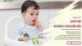 5 biện pháp mẹ có thể áp dụng sớm để giúp bé không còn kén ăn sau này